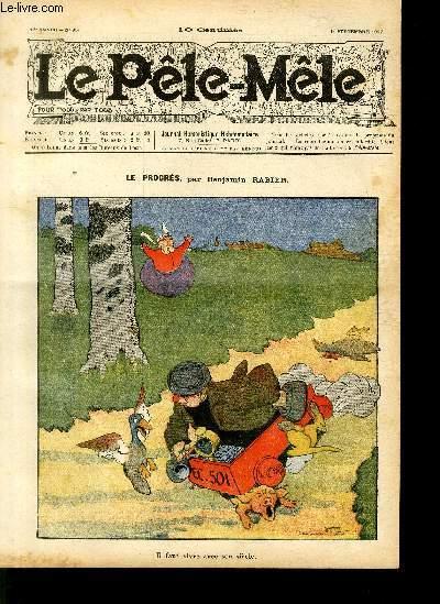 Le Pêle-Mêle, 13è année, N°35, Le progrès.
