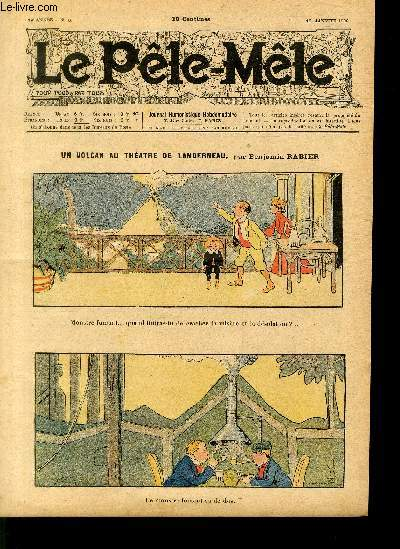 Le Pêle-Mêle, 14è année, N°03, Un volcan au théâtre de Landerneau.