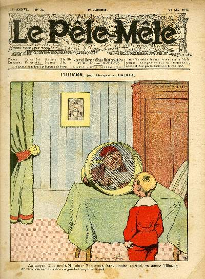Le Pêle-Mêle, 17è année, N°21 - L'illusion