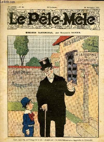 Le Pêle-Mêle, 17è année, N°48 - Monsieur senticieux