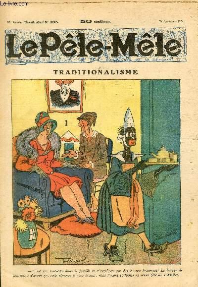 Le Pêle-Mêle, nouvelle série, N°305 - Traditionalisme