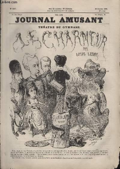 Le Journal amusant N°1017 - Théâtre du gymnase - Le charmeur