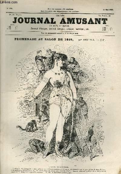 Le Journal amusant N°698, Promenade au Salon de 1869.