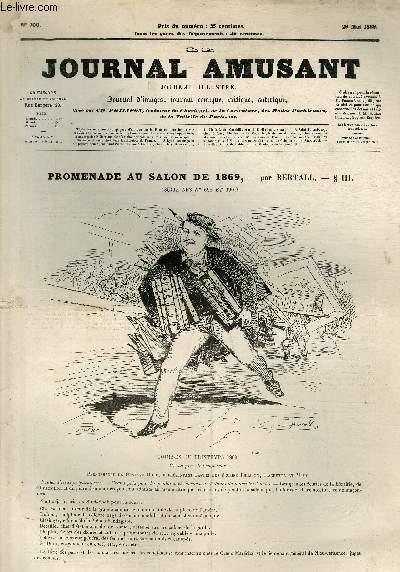 Le Journal amusant N°700, Promenade au Salon de 1869.