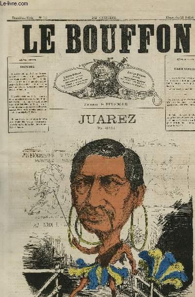 Le Bouffon - 2è série, N°77 - Juarez