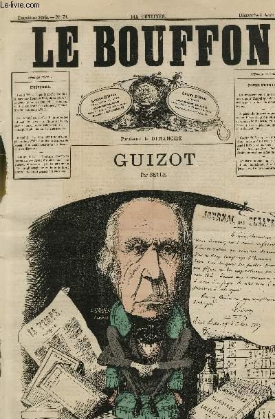 Le Bouffon - 2è série, N°79 -Guizot