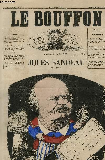 Le Bouffon - 2è série, N°82 - Jules Sandeau