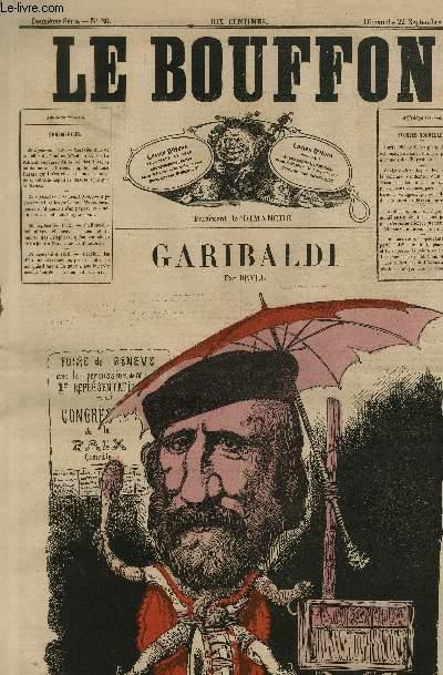 Le Bouffon - 2è série, N°86 - Garibaldi