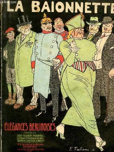 La Baïonnette, 2è série, N°6 - Elégances berlinoises