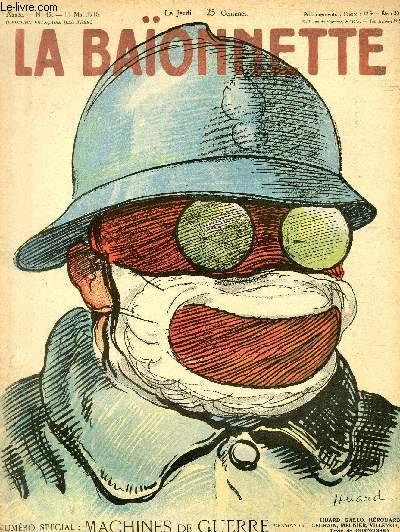La Baïonnette, 2è série, N°45, N° spécial, Machines de guerre.