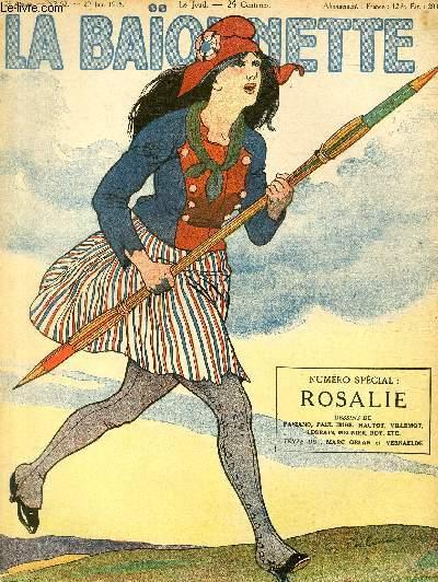 La Baïonnette, 2è série, N°52, Rosalie.