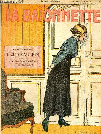 La Baïonnette, 2è série, N°56, N°spécial, Les fräulein.