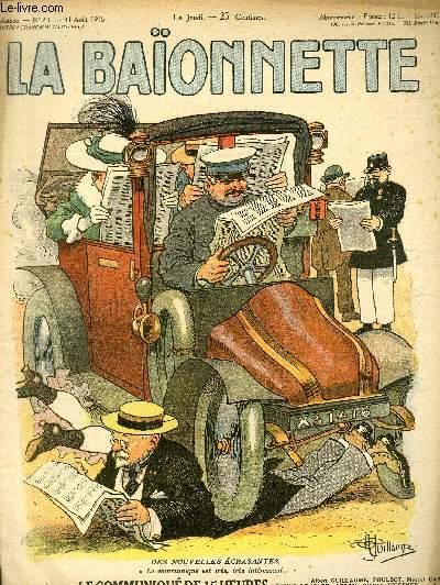 La Baïonnette, 2è série, N°61, Le communiqué de 15 heures.