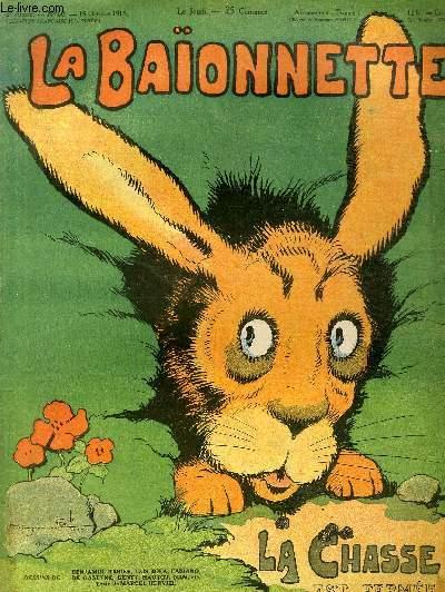 La Baïonnette, 2è série, N°68, La chasse est fermée.