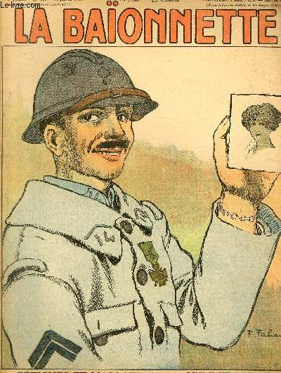 La Baïonnette, 2è série, N°80, Fétiches et mascottes.