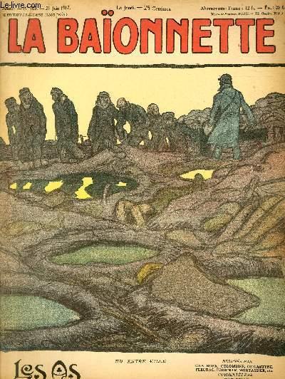 La Baïonnette, 2è série, N°103, Les as.