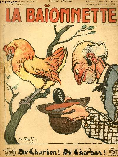 La Baïonnette, 2è série, N°120, Du charbon!
