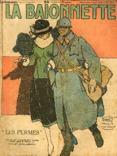 La Baïonnette, 2è série, N°140, Les permes.