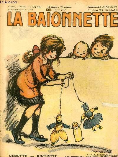 La Baïonnette, 2è série, N°157, Nénette et Rintintin.