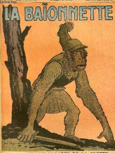 La Baïonnette, 2è série, N°164, Les animaux malades de la guerre.