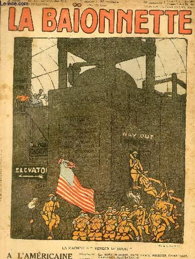 La Baïonnette, 2è série, N°171, A l'américaine.