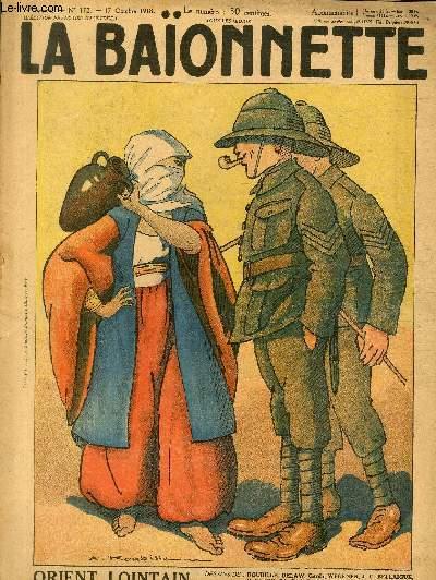 La Baïonnette, 2è série, N°172 - Orient lointain