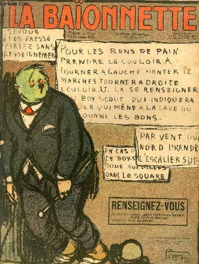 La Baïonnette, 2è série, N°176, Renseignez-vous.