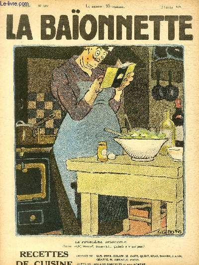La Baïonnette, 2è série, N°189 - Recettes de cuisine