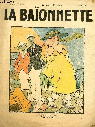 La Baïonnette, 2è série, N°223 - Les