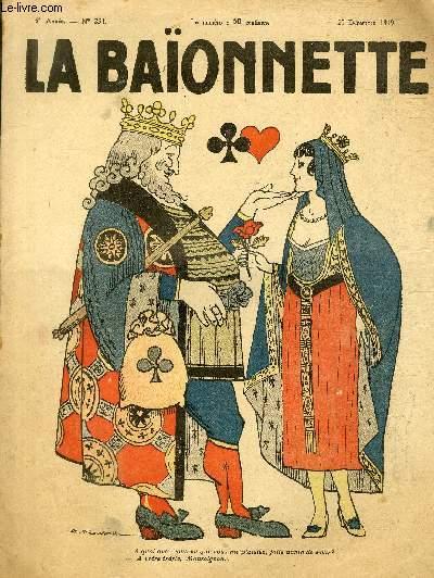 La Baïonnette, 2è série, N°234, Jolie dame de coeur.