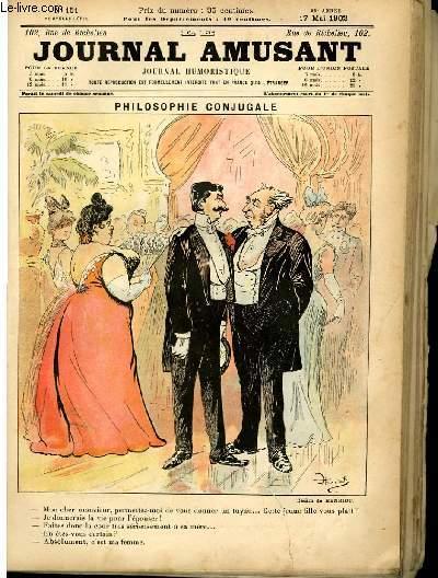 Le journal amusant - nouvelle série N°151. Philosophie conjuguale