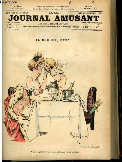 Le journal amusant - nouvelle série N°189 - Ta bouche, bébé!