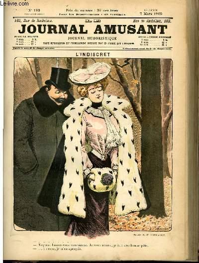 Le journal amusant - nouvelle série N°193 - L'indiscret.