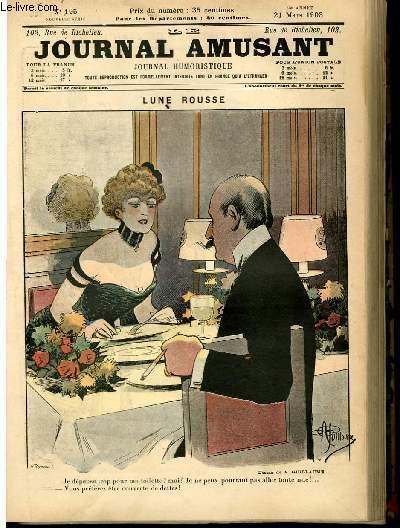 Le journal amusant - nouvelle série N°195 - Lune rousse.