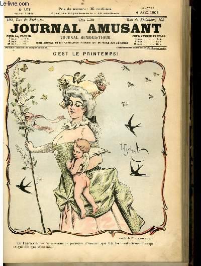 Le journal amusant - nouvelle série N°197 - C'est le printemps!