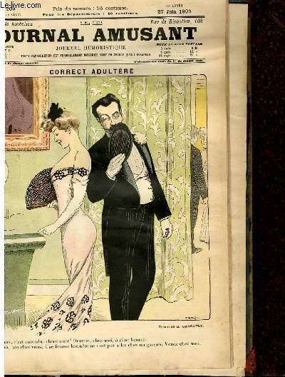 Le journal amusant - nouvelle série N°209 - Correct adultère.