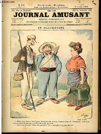 Le journal amusant - nouvelle série N°212 - En villégiature.