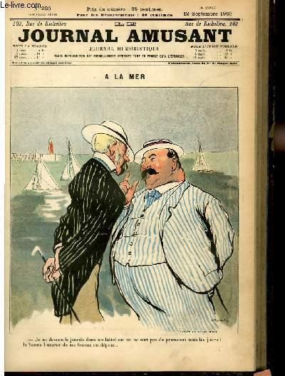 Le journal amusant - nouvelle série N°220 - A la mer.