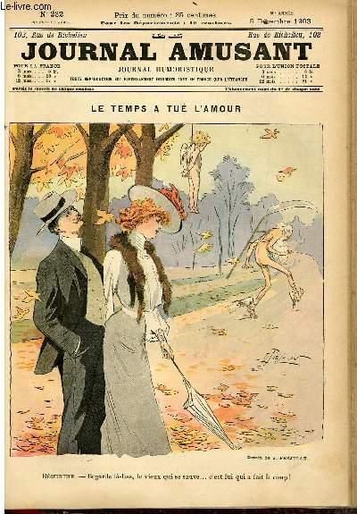 Le journal amusant - nouvelle série N°232 - Le temps a tué l'amour.