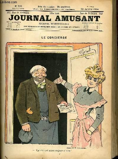 Le journal amusant - nouvelle série N°240 - Le concierge