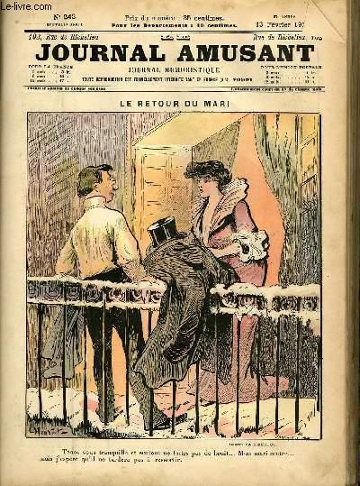 Le journal amusant - nouvelle série N°242 - Le retour du mari.