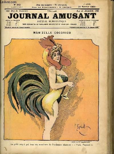 Le journal amusant - nouvelle série N°243 - Mam'zelle Cocorico.