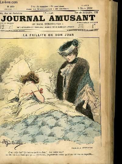 Le journal amusant - nouvelle série N°245 - La faillite de Don Juan.