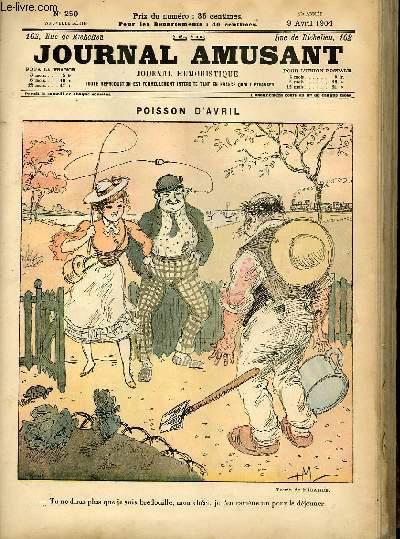 Le journal amusant - nouvelle série N°250 - Poisson d'avril.