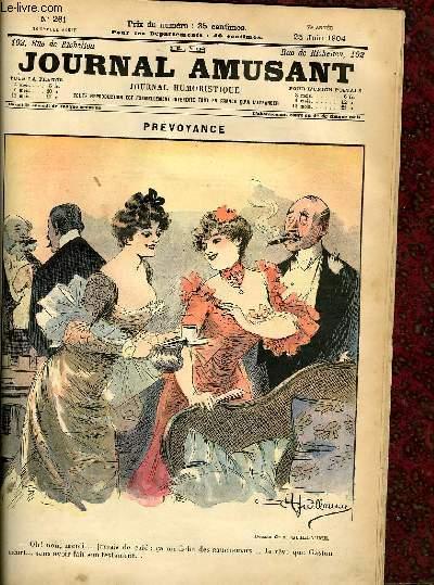 Le journal amusant - nouvelle s�rie N�261. Pr�voyance