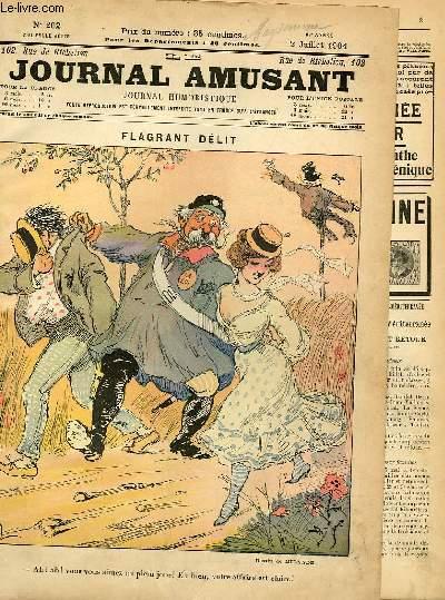 Le journal amusant - nouvelle série N°262. Flagrand délit
