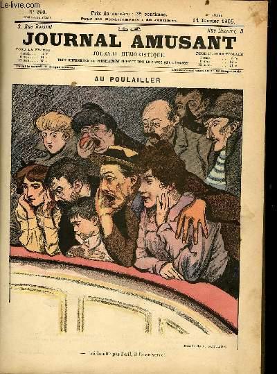 Le journal amusant - nouvelle série N°290. Au poulailler
