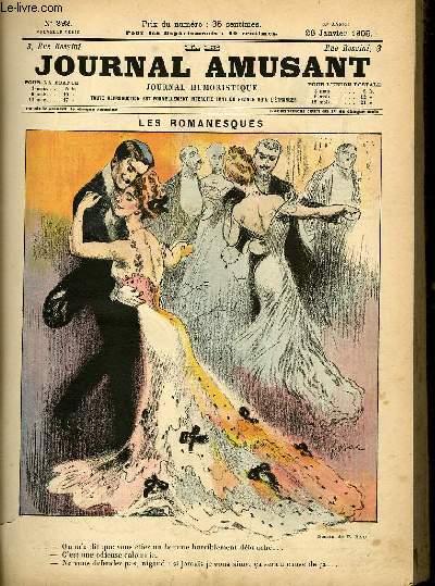 Le journal amusant - nouvelle série N°292. Les romanesques