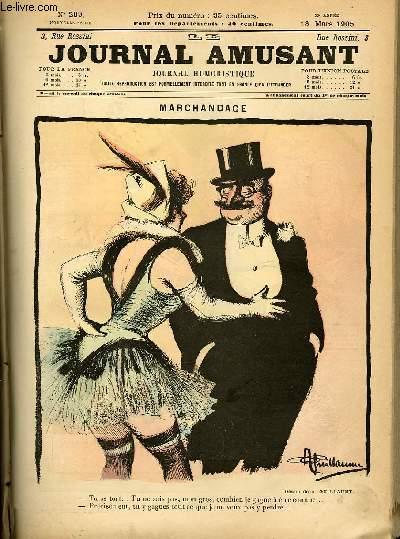 Le journal amusant - nouvelle série N°299. Marchandage