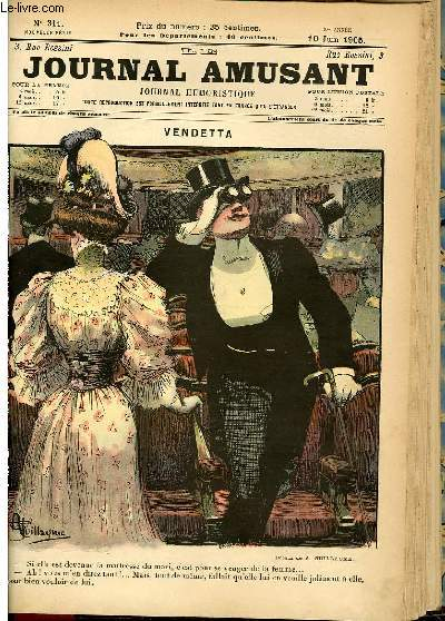 Le journal amusant - nouvelle série N°311. Vendetta